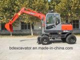 Gute Leistungs-Minirad-Exkavatoren für Verkauf