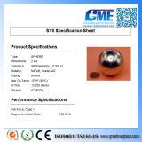 "Super Largest 2"" Diameter Neocube Magnet Ball Nickel"