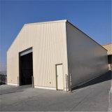 プレハブの鉄骨フレームの構造のおおいの避難所のガレージ