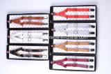 Cores do Suspender Clip-on de couro do plutônio da alta qualidade multi no estoque