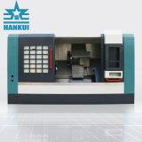 CNCの金属の旋盤を回すCk40L中国のBenchtop Fanucのシステム小型傾いたベッド