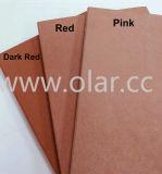 Fiber colorido Cement Board Used em Cladding, Facade