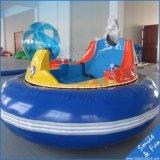pour 1-2 personnes, à piles avec le manche véhicule de butoir gonflable de rotation de 360 degrés