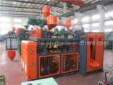 Automatischer HDPE Plastikflaschen-Strangpresßling-Schlag-formenmaschinen-Preis