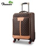 """Bagagli d'imbarco di corsa dei bagagli dei bagagli 20 del cuoio dei bagagli del carrello di alta qualità """" con l'alta qualità"""