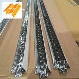 Expone regularmente en el techo del sistema de suspensión de la barra de T (T15/24mm)