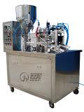 Semi-automática de tubo de plástico de llenado y sellado de la máquina con Chiller