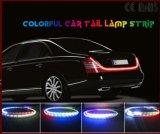 Mufti-Funktion Streifen Doppeldes farben-Endstück-Licht-LED Streifen-flüssiger Drehung-Signal-Rückseiten-des Licht-1.2m RGB LED