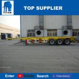 대륙간 탄도탄 차량 - 판매를 위한 콘테이너 포좌 제조자 해골 트레일러