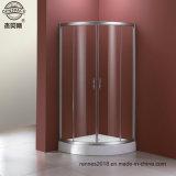 6 mm de cabines de douche en verre trempé clair simple porte de douche