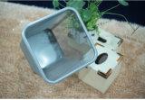 Quarto caixote do lixo com revestimento de pintura (KL-57)