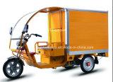 貨物のための電池の三輪車は表現し、
