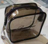 PVC, Zip-Lock sac cosmétique avec logo personnalisé