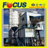 Alta calidad y buena planta de procesamiento por lotes por lotes concreta inmóvil del servicio Hzs60