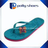 Подошва пенистого каучука ЕВА комфорта сандалий бабочки Flops Flip женщин