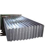 Toiture en métal ondulé en acier galvanisé feuille