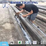 Hot-DIP galvinized 6m lámpara solar precios de poste de postes de acero