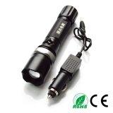Высокая мощность алюминиевых Adjiustable Zoom 1101 полиции безопасности светодиодный фонарик