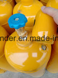 Azoto con la bombola per gas 40L