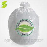 Fabriqué en Chine bio dégradables supermarché sac de plastique blanc veste