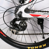 com a bicicleta de montanha da liga de alumínio de freio de disco da velocidade de Shimano Derailleur 24