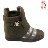 Madame sexy Shoes (SN503) de relation étroite de décoration de l'hiver d'espadrille élastique de femmes