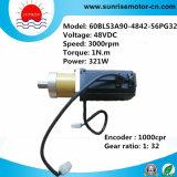 servomotore senza spazzola ad alta velocità di CC di 48VDC 3000rpm
