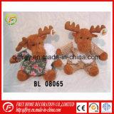 Banheira de venda de Natal de pelúcia Deer brinquedo a árvore de Natal