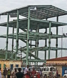 بنية فولاذ صنع لأنّ [مولتي-ستوري] معدن إطار [كنستروكتثر] بناية