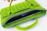 Saco brilhante do portátil do lazer das mulheres das cores do projeto novo do neopreno