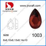 Perlas de cristal de accesorios para vestir de colores (DZ-1033)
