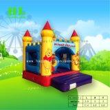 Purpurrotes edles Minischloss-aufblasbarer springender Prahler für Kinder
