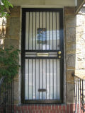 Portes en acier simples carrées de Scurity pour la maison