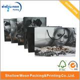 Bolso de compras de papel respetuoso del medio ambiente de encargo (QYZ040)