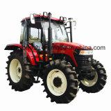 110HP Agricultura Uso 4 ruedas del tractor agrícola