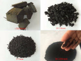 1-3tph Capacidade 6mm Triturador de borracha de pneus de borracha acabados