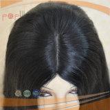 고품질 검정 레이스 사람의 모발 가발 (PPG-l-01742)