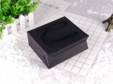 Custom negro elegante bolso de compras de papel