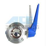 Acier inoxydable de haute performance avec support de valve papillon