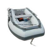 Barco de pesca de Aqualand 8feet/bote del Rowing/barco de motor de goma inflables (aql250)