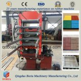 Pisos de goma de caucho exterior equipo /Máquina Mosaico