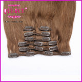 Top Quality Finest Fashion Grade 8A 100% Human Remy Virgin Todos os Cuticle Cut Clip Hair