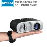 Gp802A, Simplebeamer домашнего кинотеатра начального уровня светодиодный проектор, низкая стоимость 100 лм двойной HDMI с ТВ-тюнером, новый проектор для домашнего видео