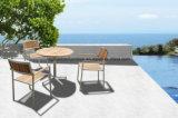 Meubles de jardin en teck chaises de salle à manger avec les bras
