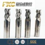 HRC45/55/60/65高精度3/4/5のフルートの炭化物の荒削りの端製造所