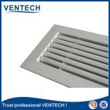 Grille d'aération en aluminium décorative de renvoi de porte pour l'usage de ventilation