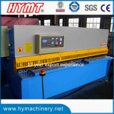 Do feixe hidráulico do balanço da série de QC12y máquina de estaca de corte da placa da máquina