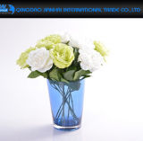 장식적인 유리 그릇 축제, 결혼식 및 크리스마스를 위한 유리제 꽃 화병
