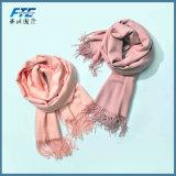 高品質のスカーフ長い様式の女性100%年のカシミヤ織スカーフ