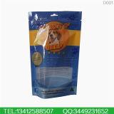 La Chine de l'OPP personnalisée en usine Stand up pochette à fermeture éclair pour la nourriture pour chien sac d'emballage en plastique